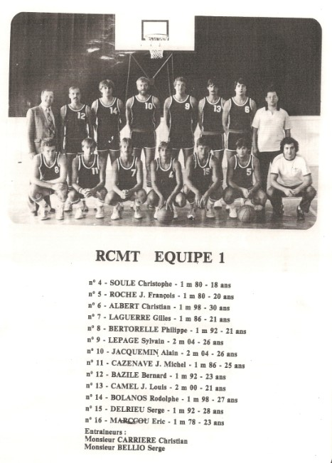 1983 - RCMT