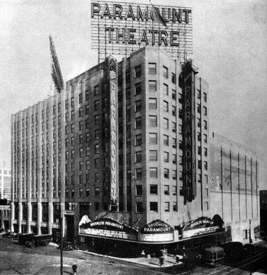 BrooklynParamount1928Ext - nycago.org