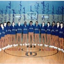 Tulsa University, Zack est au milieu de la photo