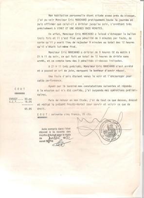 PV du record du dribble, page 2