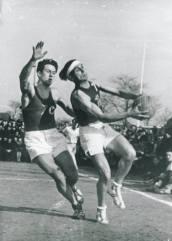 France-Espagne 1943 (Photo Musée du Basket, FFBB)