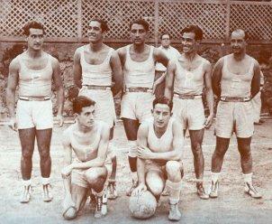 Bàsquet. Copa 1935.