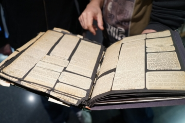 Des coupures de presse des années 20 et 30, fonds Eusebio Milàn
