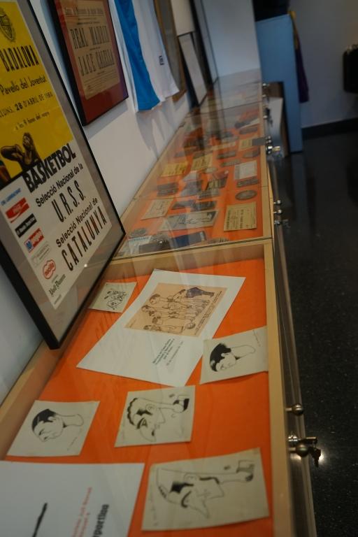 Caricatures de joueurs espagnols et affiches