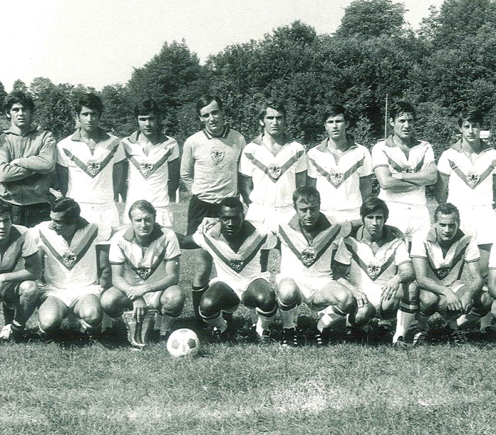 L'US Toulouse en 1970, l'équipe qui deviendra plus tard le TFC et aura sonné le glas du basket toulousain